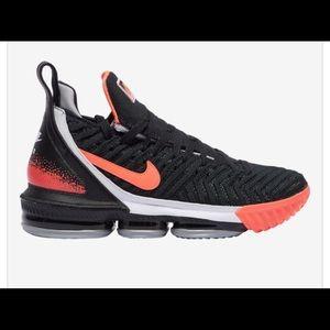 Nike Shoes - Nike Lebron 16 Lava Tech size 10